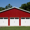 Indiana garage with clopay carriage house overhead doors