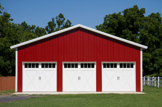 Pole barn indiana plan for Pole barn home kits indiana