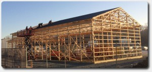 pole barn construction 50x80x20