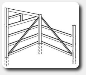 corner braces for pole barns
