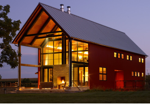 Cool pole barn homes joy studio design gallery best design for Pole building house