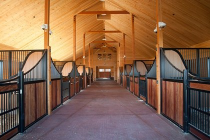 Delightful Beautiful Horse Stable Design Ideas Photos Home Decorating Ideas