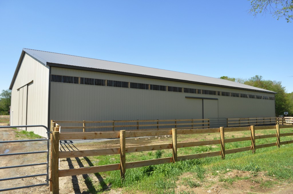 70x128x18 indoor riding arena