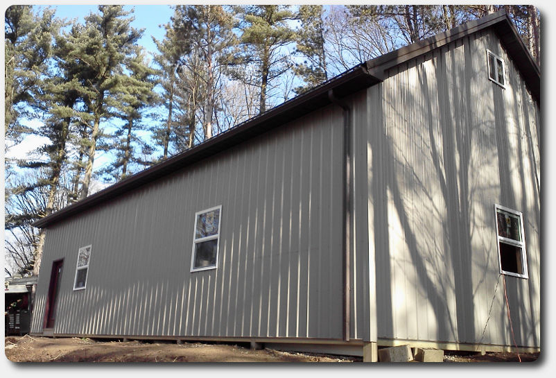 Pole barn kit prices for 24x30 garage cost