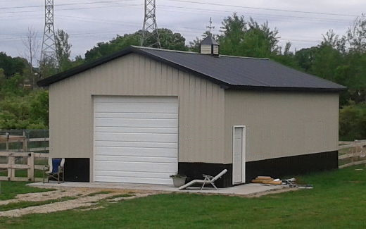 Awesome pole barn kits pole buildings proven better for Large garage kits