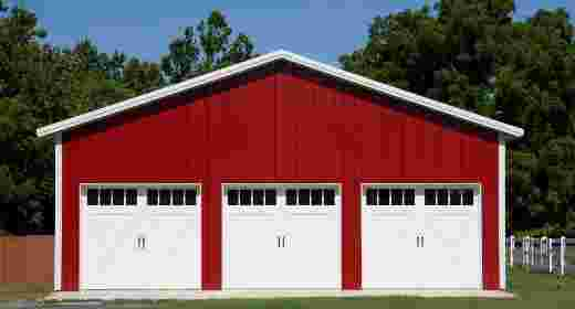 Pole barns pole buildings by apb for Pole barn home kits indiana
